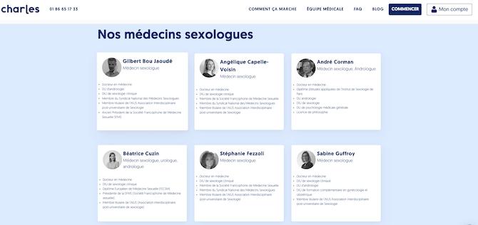 Charles médecins sexologues