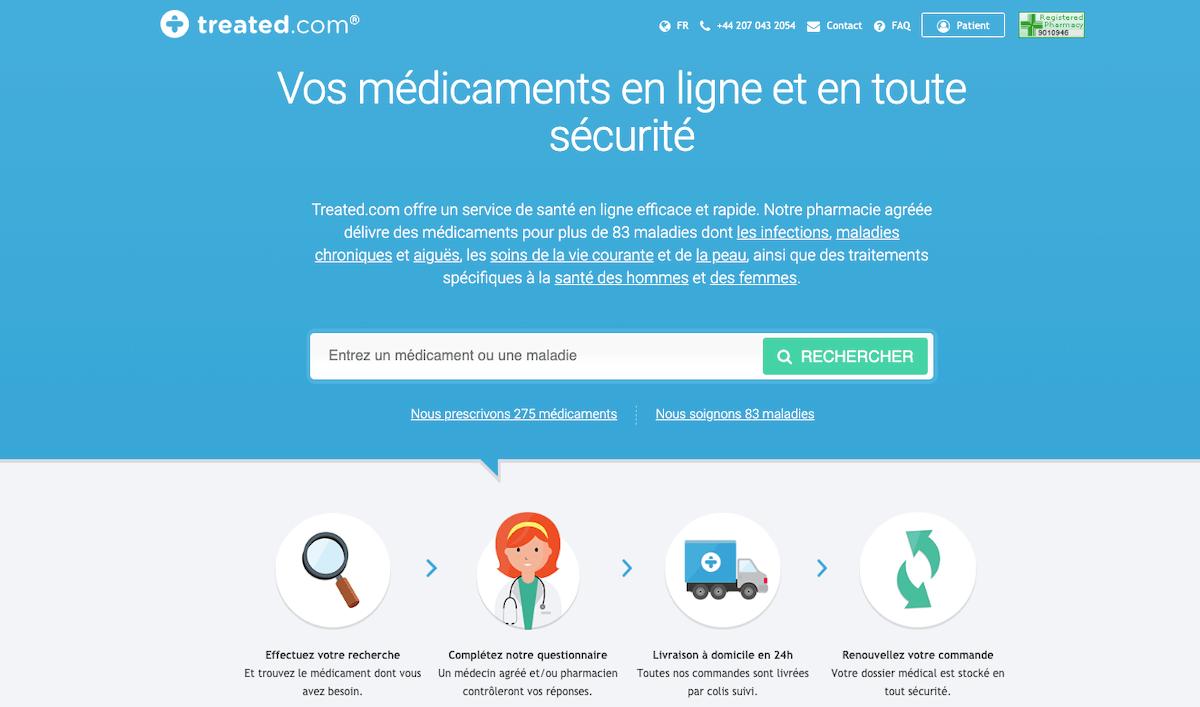 Treated - pharmacie en ligne