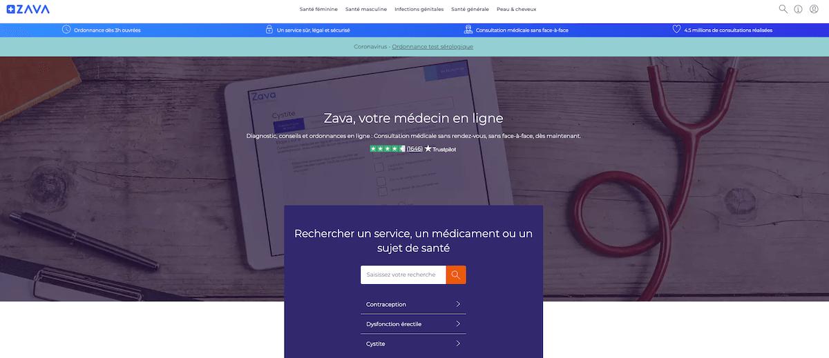 Zava pharmacie en ligne