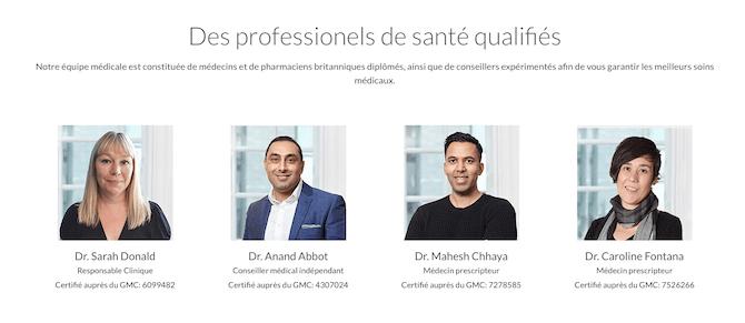 Medilico professionels de sante qualifies